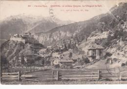 Cp , 05 , QUEYRAS , Le Château Queyras , Le Village Et Le Fort - Autres Communes