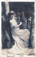 Jolie Fille /young Lady - Jeune Femme Artiste DRYADE Avec Harpe Par Reutlinger / Paris Théatre / Harp - Artistes