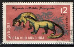 VIETNAM DEL NORD - 1965 - ANIMALI SELVATICI - USATO - Vietnam