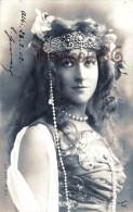 Jolie Fille /young Lady - Jeune Femme Artiste SOREL Par Reutlinger / Paris  Théatre 1902 Trans Couronne - Artistes