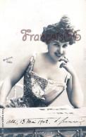 CPA Jolie Fille / Frau / Lady - Jeune Femme Artiste D'Horville Reutlinger - Artist Theatre Paris 1902 - Artiesten