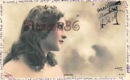 CPA Jolie Fille / Frau / Lady - Jeune Femme Artiste La Cavaliéri Reutlinger 1904 Artist Theatre Paris Art Nouveau - Entertainers