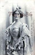 CPA Jolie Fille / Frau / Lady - Jeune Femme Artiste La Cavalieri / Reutlinger Théatre Paris 1903 - Entertainers