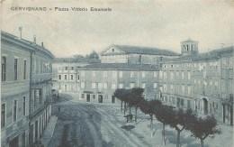 Cervignano Piazza Vittorio Emanuele Fp V.1928 - Udine