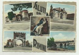 SALUTI DA RIMINI 5 VEDUTE  VIAGGIATA FG - Rimini