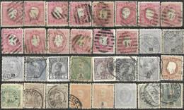 _6R-983: Restje Van 32 Zegels  : Diversen...... Om Verder Uit Te Zoeken... Enkele Met Kleine Gebreken... - Portugal