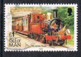 Isle Of Man SG380 1988 Definitive £1 Good/fine Used - Isle Of Man