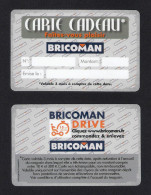 Carte Cadeau.   Gift Card.    BRICOMAN. - Gift Cards