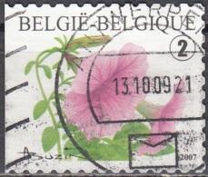 Belgique 2007 COB 3722 O Cote (2016) 2.50 Euro Petunia Cachet Rond - Gebraucht