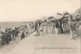 CHATELLAILLON - La Plage Et Le Boulevard - Châtelaillon-Plage