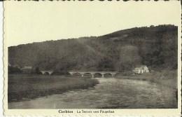 Corbion -- La  Semois Vers Poupehan.    (2 Scans) - Bouillon