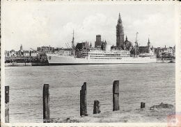 Congo Belge - Carte Postale PAQUEBOT - LEOPOLDVILLE - Posted At Sea 1939 - Courrier De Haute Mer - Paquebots