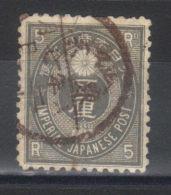 Japon N° 47 (1876) - Usados