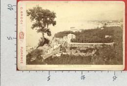 FOTOGRAFIA ORIGINALE ITALIA - SORRENTO - Panorama Da Capodimonte - 11 X 16 - Giacomo Brogi - Lugares
