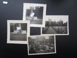 LOT 4 PHOTOS BELGIQUE ANNéE 50 (M1415) GAESBEEK (5 Vues) - Orte