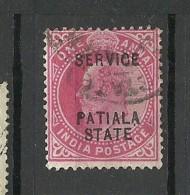 INDIA Patiala State Revenue Tax Stamp Service OPT O - Patiala