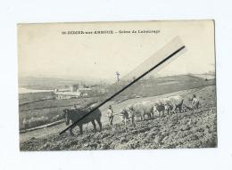 CPA  - St Didier Sur Arroux  - Scène De Labourage -  Saint Didier Sur Arroux - Autres Communes