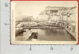 CARTOLINA NV ITALIA - NAPOLI - Strada Santa Lucia E Castel Dell'Ovo - 11 X 16 - Giacomo Brogi - Napoli