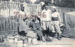 (33) Bordeaux - Aout 1914 - Tirailleurs Marocains à La Cuisine - Soldats Militaires Militaria - 2 SCANS - Bordeaux