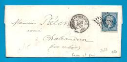 Seine Et Oise - LIMOURS EN HUREPOIX Pour CHATEAUDUN (Eure Et Loir) -  GC + CàD Type 15. AMELIORATION DE DATE - Marcophilie (Lettres)