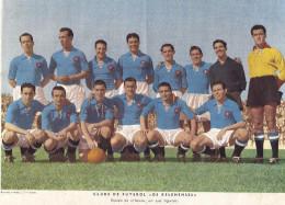 CLUBE De FUTEBOL OS BELENENSES (Restelo - Lisboa). Foto Gravura JOGADORES Equipa Honra. 1950s Poster Football PORTUGAL - Football