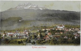 KRIENS  → Generalansicht Mit Pilatus 1907 - LU Lucerne