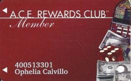 ACE Rewards Casino Slot Card - Innovative Bottom Right On Reverse - Casino Cards