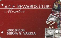 ACE Rewards Casino Slot Card - (I) Over 11mm Brown Mag Stripe - Casino Cards