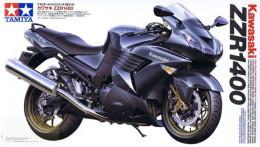 Kawasaki ZZR1400 1/12 ( Tamiya ) - Motorcycles