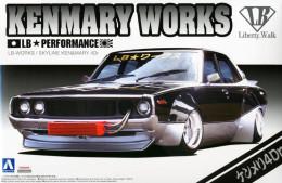 Nissan Skyline : KenMary Works 1/24 (  Aoshima ) - Cars