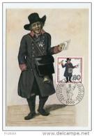 GERMANY - AK 170241 MC - PC + Stamp - MaxiPhil 42/89 Wohlfahrtsmarken 1989 - [7] Repubblica Federale