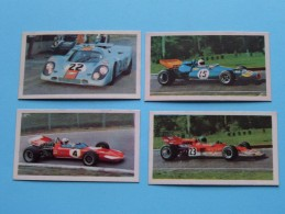 2e Serie AUTOSPRINT Nrs 3,4,6 & 10  / CANDYgum Milano / ZAGATO ( 4 Pcs. / Detail See Photo ) !! - Other