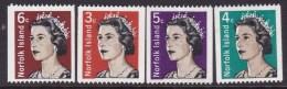Norfolk Island 1968-71 QEII Sc 116-18A Mint Never Hinged - Norfolk Island