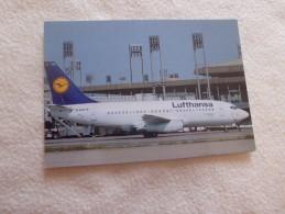 BOEING 737-200 LUFTHANSA - 1946-....: Moderne