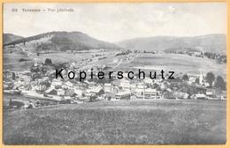 CH - Tavannes B. Biel/Bienne BE - Gesamtansicht Mit Bahnhof - Gel. 1914 - BE Berne