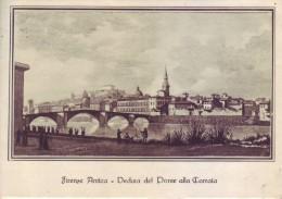 Firenze Antica - Veduta Ponte Alla Carraia, Affrancata E Viaggiata 1956 - Firenze