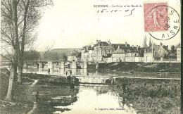 Soissons. Les Bords De La Crise Et Le Faubourg De Saint Vaast. - Soissons