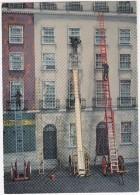 FIRE ESCAPE MODELS ;  A.Wivell´s Extending Ladder, & Fly-ladder 1836 & Shand´s Lattice-girder Extending Escape 1880 - Brandweer