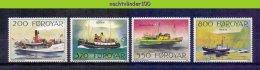 Mnp302 TRANSPORT SCHEPEN MASIN SIGMUNDUR RITAN RUTH SHIPS SCHIFFE BATEAUX FOROYAR 1992 PF/MNH - Boten