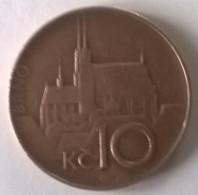 Monnaie - Tchéquie - 10 Kc 1995 - - Tschechische Rep.