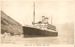 PAQUEBOT - Orient Line SS Orontes. - Dampfer