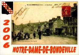 NOTRE DAME DE BONDEVILLE..22e SALON DE LA CARTE POSTALE..2006...CPM - Bourses & Salons De Collections