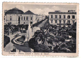 Brindisi, Piazza Cairoli E Teatro Verdi - F.G. - Anni ´1930 - Brindisi