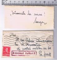 Romania Scrisoare Trimisa Pe Front In 22 Dec. 1942! - 2. Weltkrieg (Briefe)