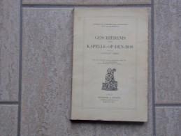 Geschiedenis Van Kapelle-op-den-Bos Door Constant Theys, 274 Blz,  1953, - Livres, BD, Revues