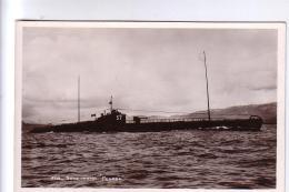 Sous-marin PEGASE  CPA Années 30 - Sous-marins