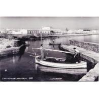 BLARSTP3262-LFTD8741.Tarjeta Postal De BALEARES.Casa,barca De Pesca En El MUELLE DE CÁN PICAFORT  En MALLORCA - Mallorca