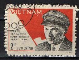 VIETNAM - 1986 - ERNST THALMANN (1886-1944) - UOMO POLITICO TEDESCO - USATO - Vietnam