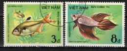 VIETNAM - 1984 - PESCI - FISHES - USATO - Vietnam