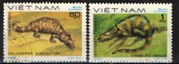 VIETNAM - 1983 - RETTILI - USATI - Vietnam